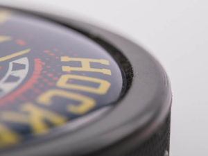 Eishockeypuck mit  3D Logodruck