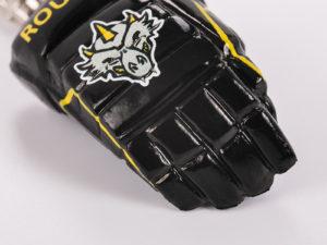Mini Eishockeyhandschuhe als Schlüsselanhänger